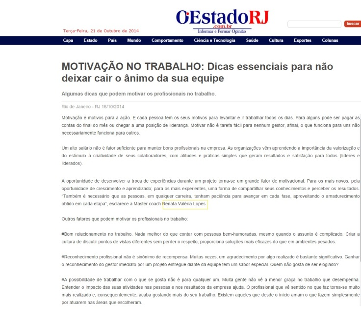 16.10.2014 O Estado RJ